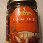 cooking with Indonesian hot sauce Sambal Oelek