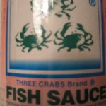 Three Crabs Brand Fish Sauce