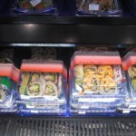 sushi display stand at Walgreen store