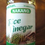 Rice Vinegar, ingredient in Asian cooking