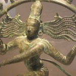 Ancient Indian sculpture of Shiva Nataraja