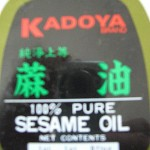 How to cook Asian dishes with Sesame Oil