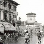 Bata sign, downtown Saigon, 1966