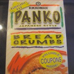 Panko, Japanese style break crumbs