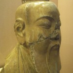 Head of deified Lao Tzu, China, 8th cent.
