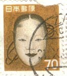Mask for Japanese Noh theater