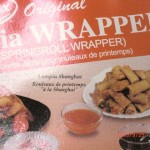 Frozen lumpia wrappers
