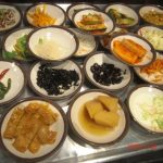 Pan Chan Small Dishes Served at a Traditional Koean Meal